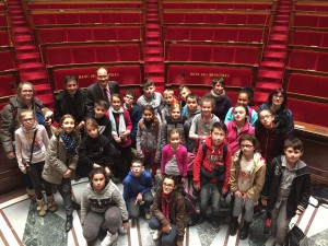 Parlement des enfants - Grand Quevilly avril 2016