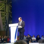 Hollande meeting du Bourget